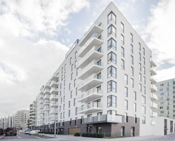 Greenwich Turns Greener with Aliva UK's Insulated Render
