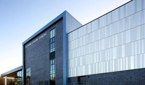 Shimmering Aluminium Facade For Flagship Leisure Centre