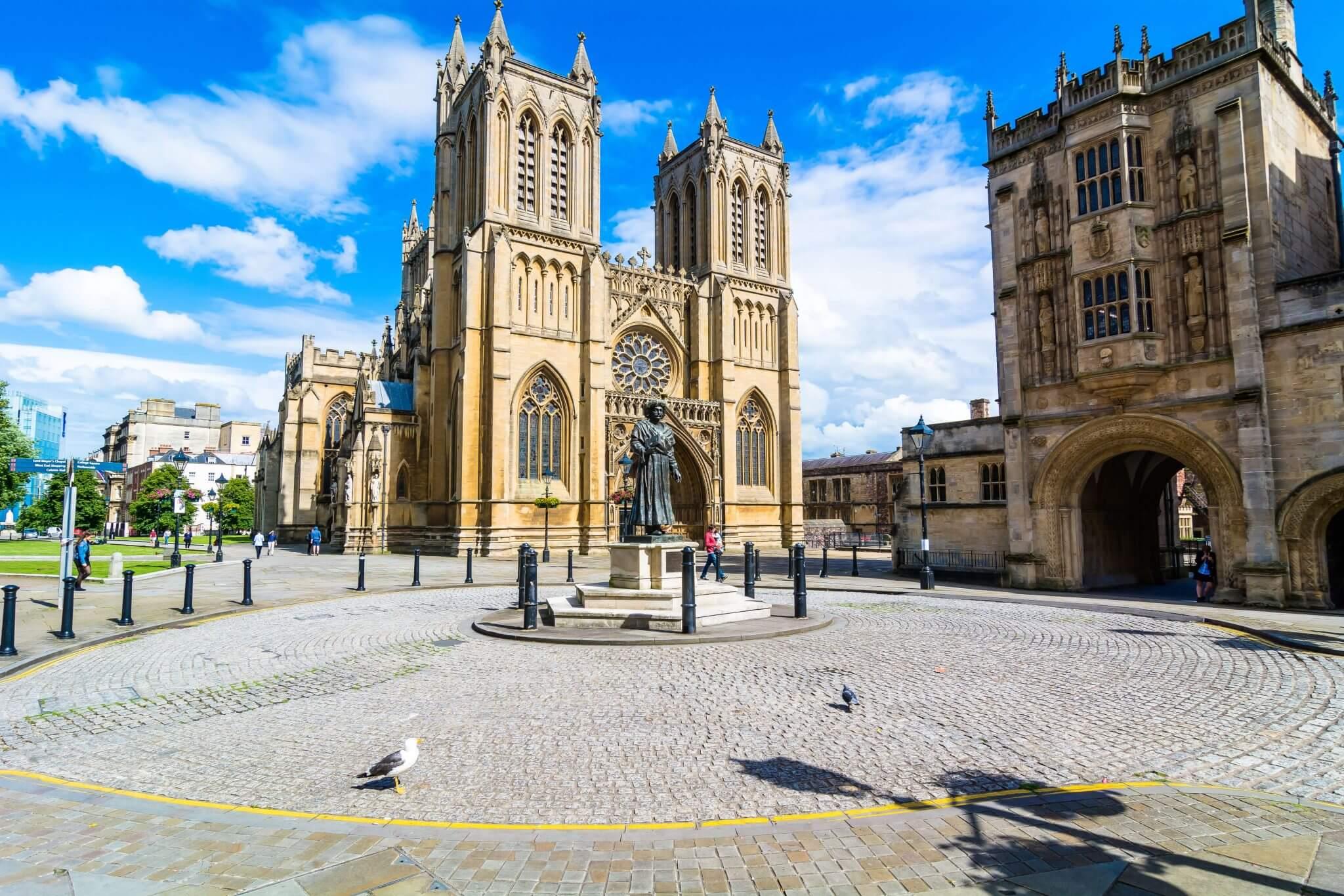Luoghi storici nella città di Bristol, Inghilterra