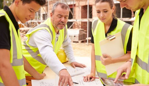 The importance of apprentices in construction