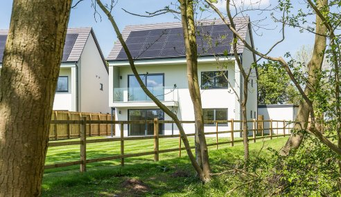 Woodlands Edge – the eco-housing development leading the way into a sustainable future