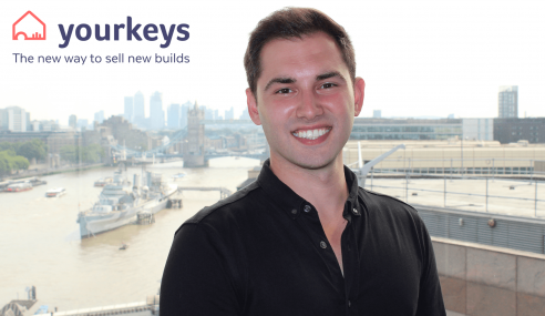 Yourkeys: Wins Best New Technology for Housebuilders by Taking Property Buying Online