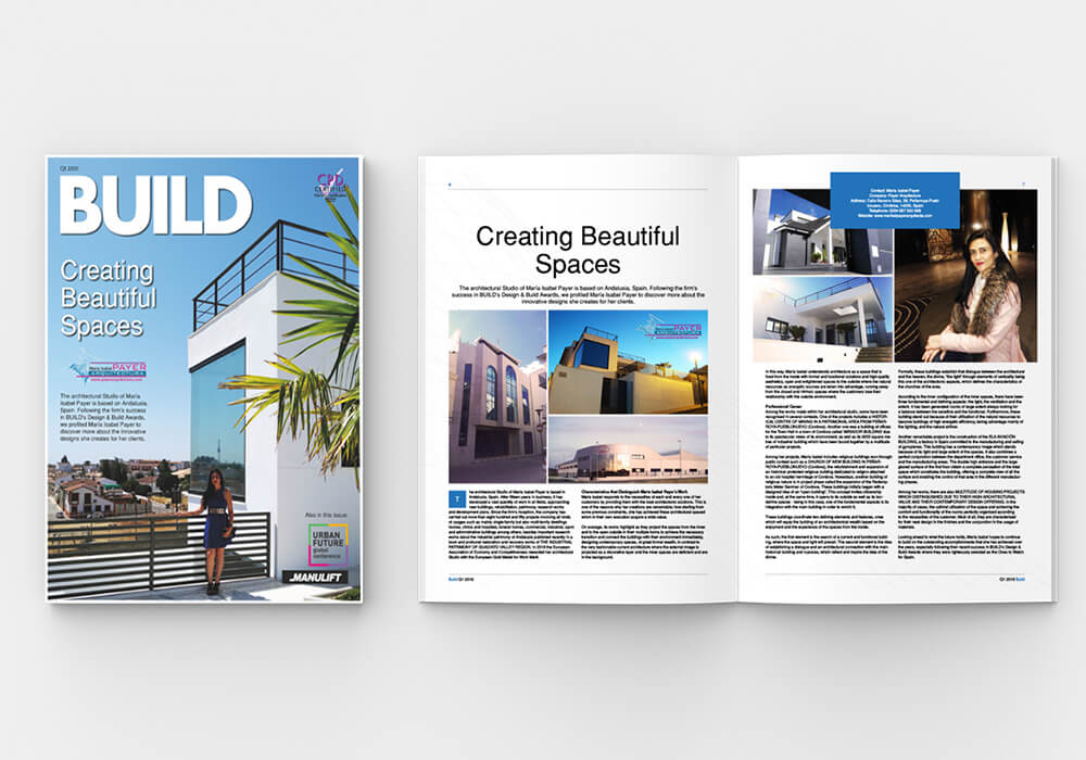 Brochure, magazine, book or catalog mock up isolated on soft gra