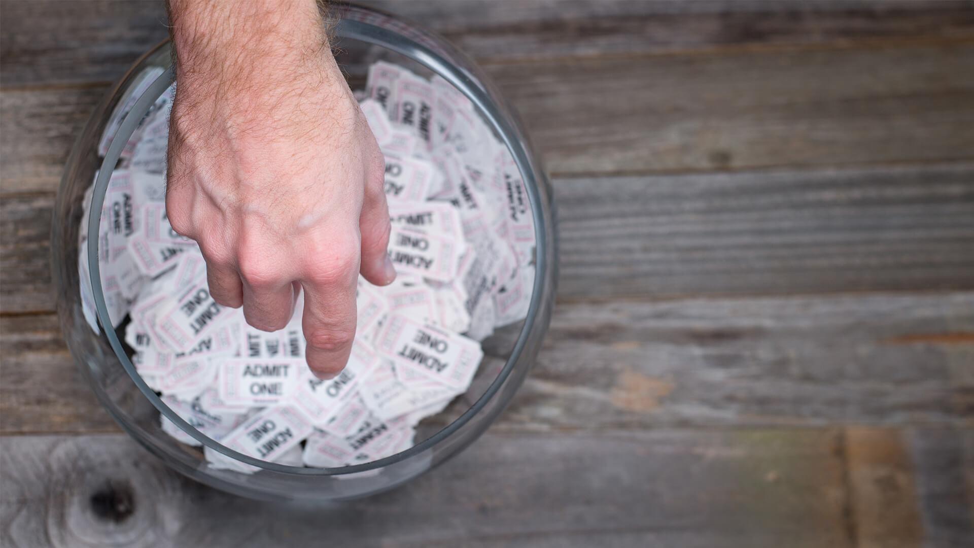 Postcode lotto