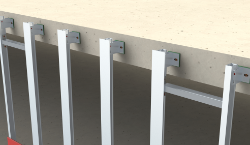 Latest NVELOPE NVF2F system offers quicker, stronger floor-to-floor rainscreen installation