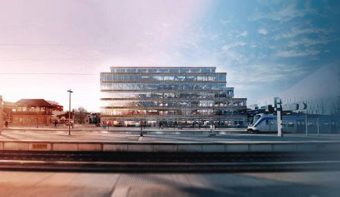 NCC to build Sweden's largest wood-frame office
