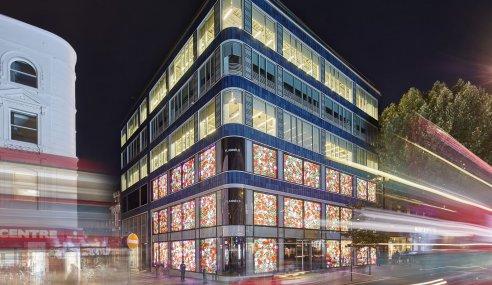 Architecture and Interior Design Studio Penson Delivers Sports Direct's New London Offices