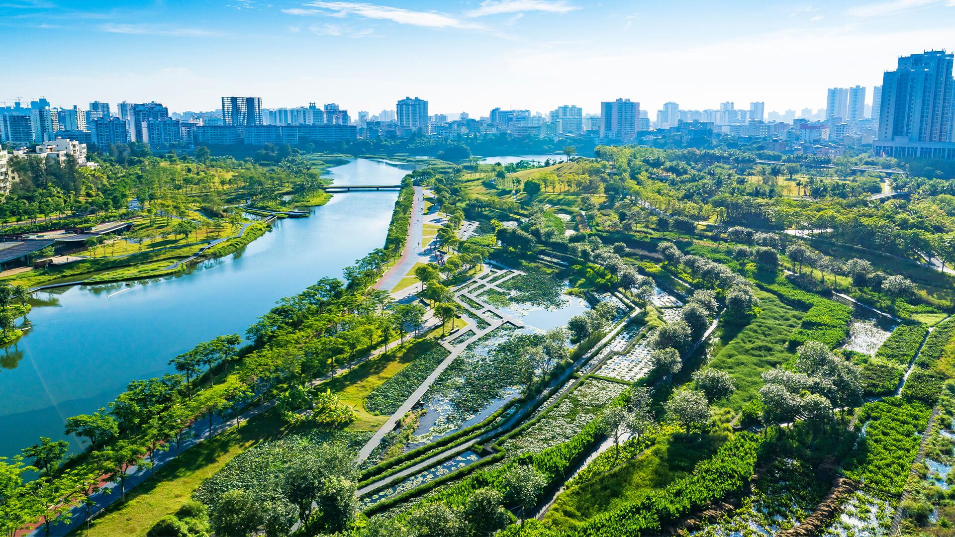 Haikou Meishe River