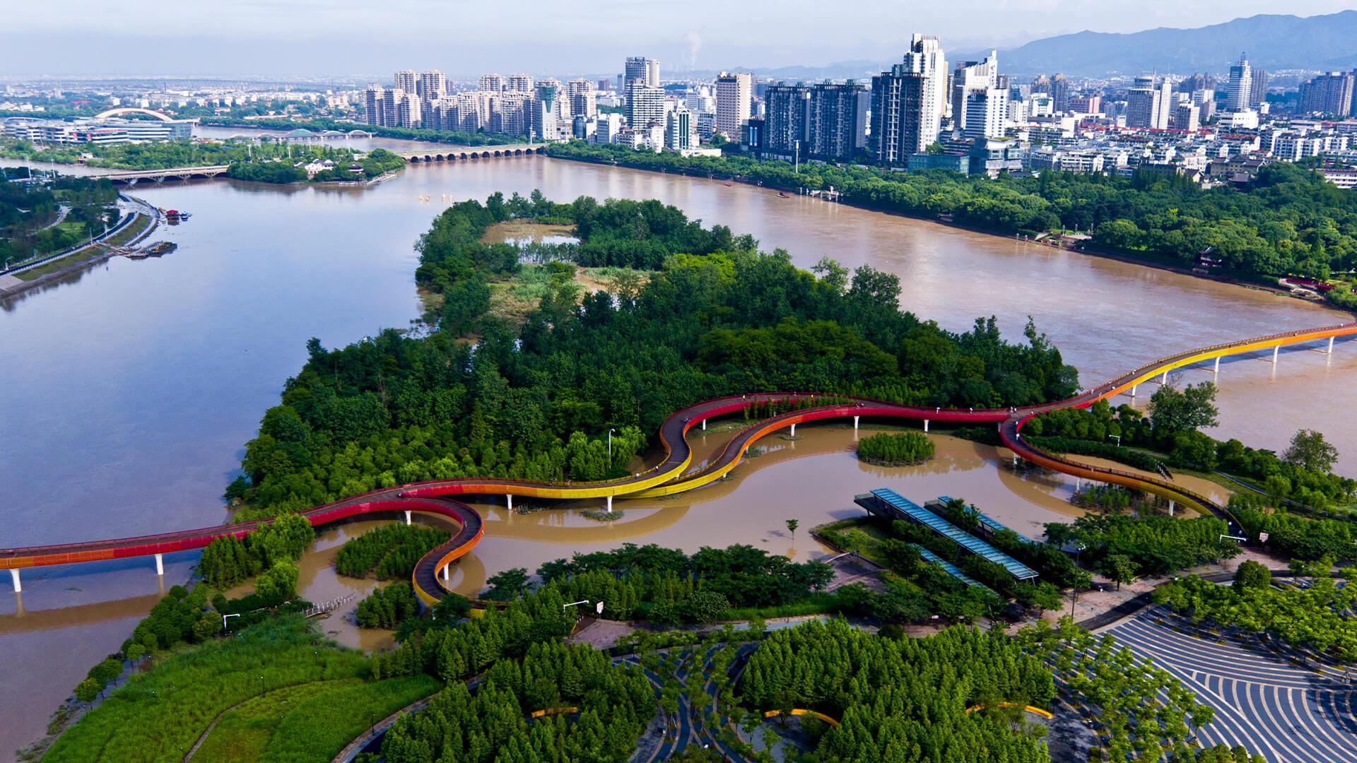 Jinhua Yanweizhou Park