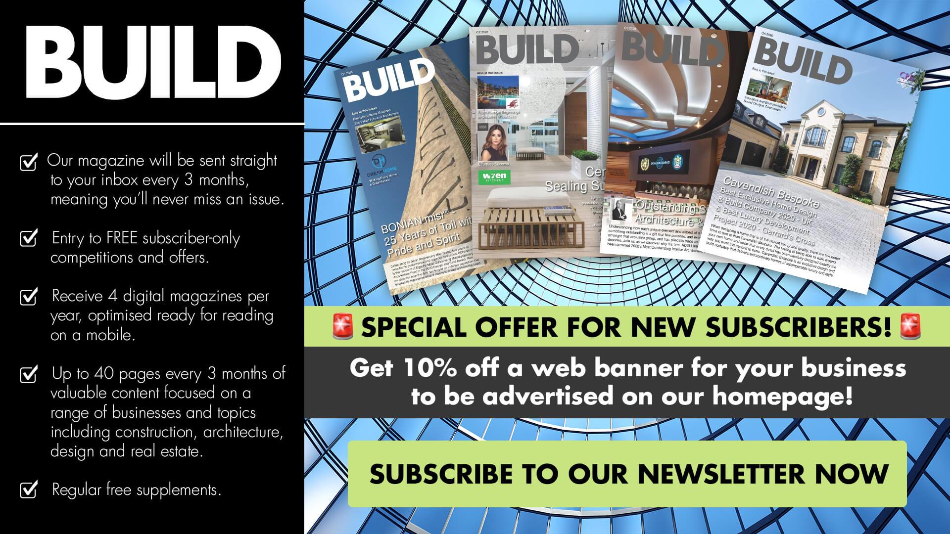 build newsletter artwork offer