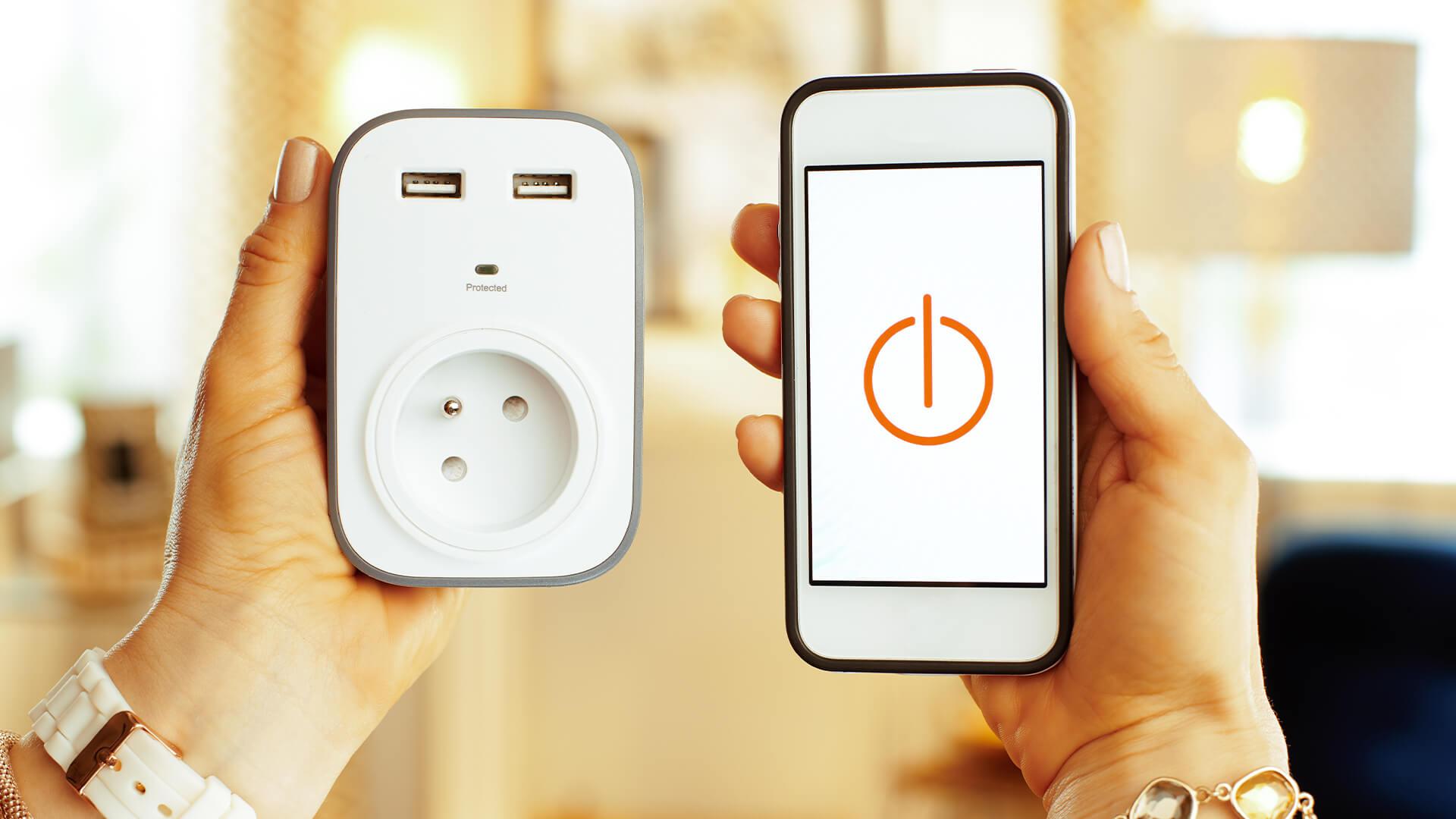 automated plug socket