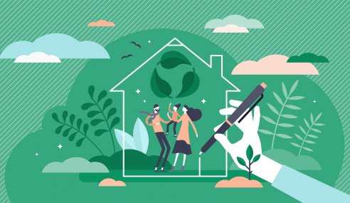 A Call for Greener Homes after Home Working Energy Surge