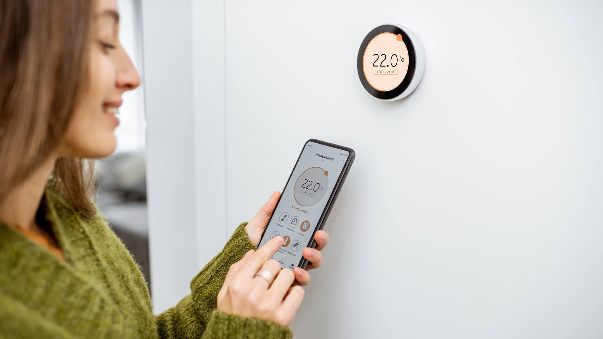 Regulating home temperature