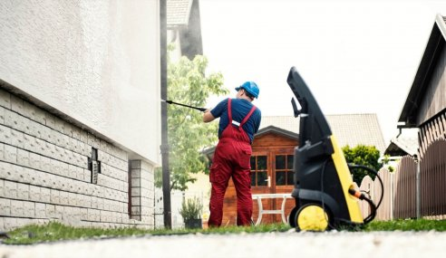 The Importance Of Using A Pressure Washer In Post-Construction Cleaning