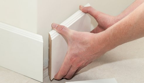 How to Prepare Concrete Floor Before Painting and Adding Skirting Boards