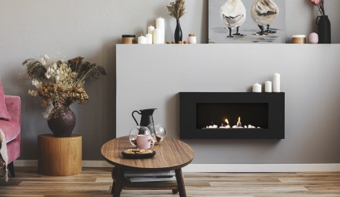 5 Advantages To Having An Electric Fireplace