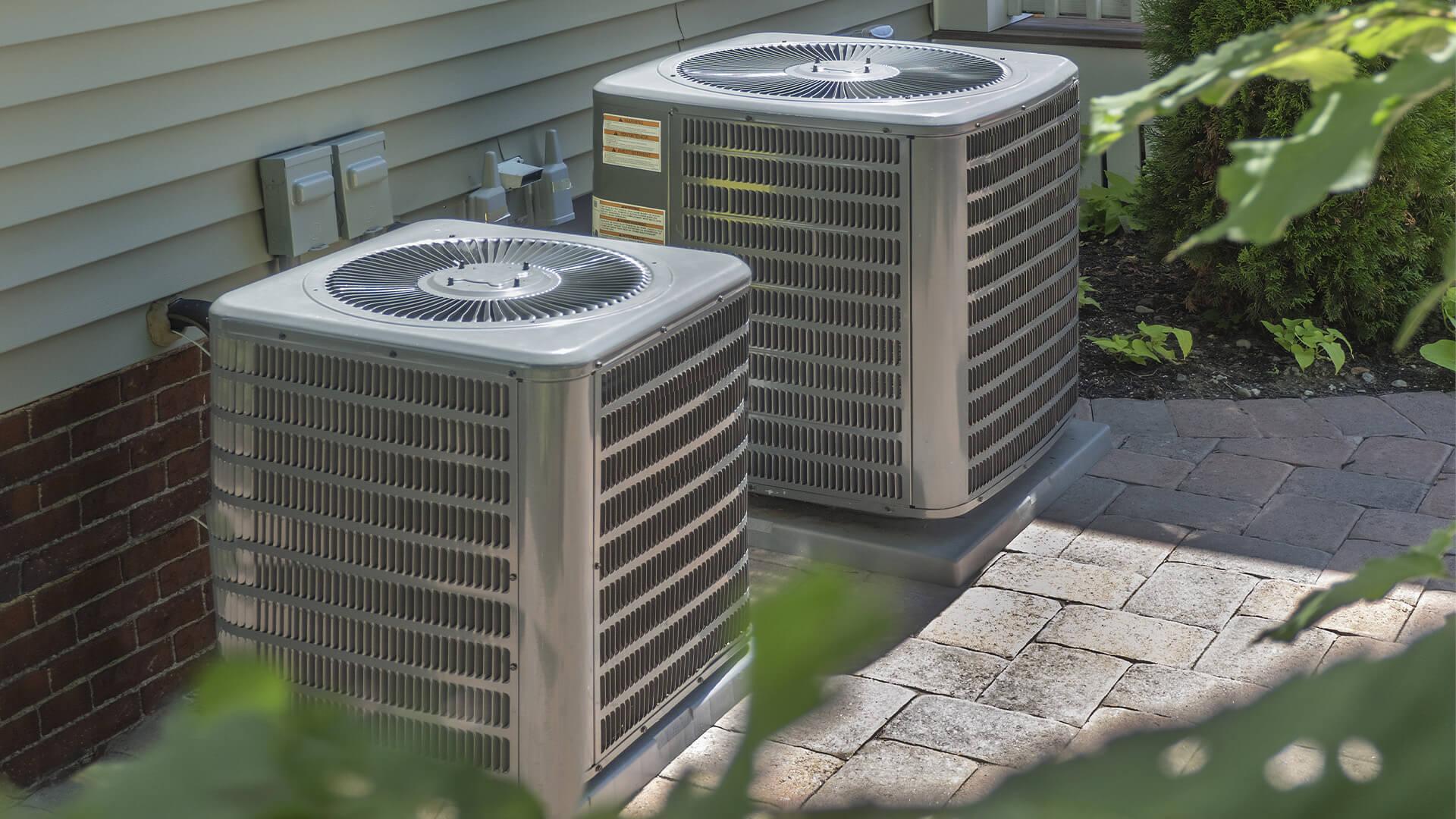 Exterior HVAC system