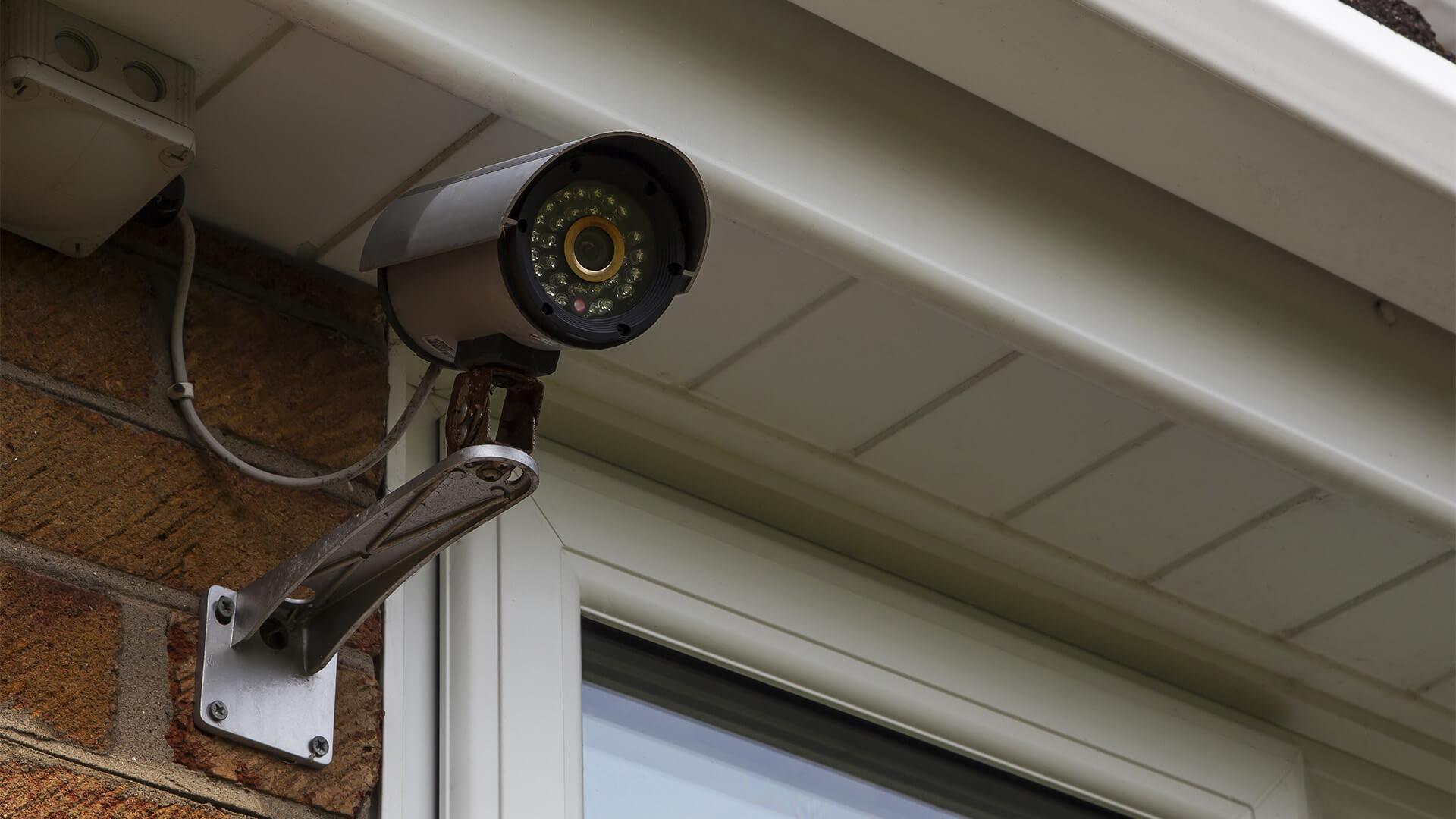 Home video security camera